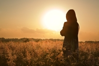 bigstock-Woman-Silhouette-Waiting-For-S-5824100